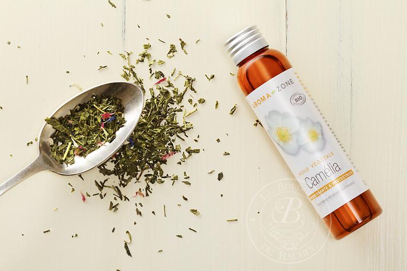 huile beauté asiatique camélia