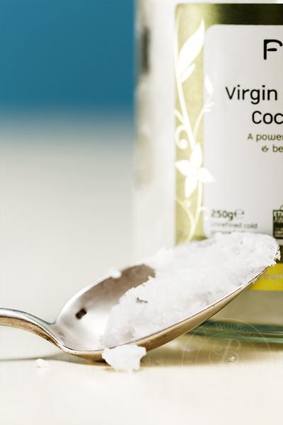 huile de coco solide