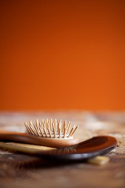 brosse peigne se démêler les cheveux