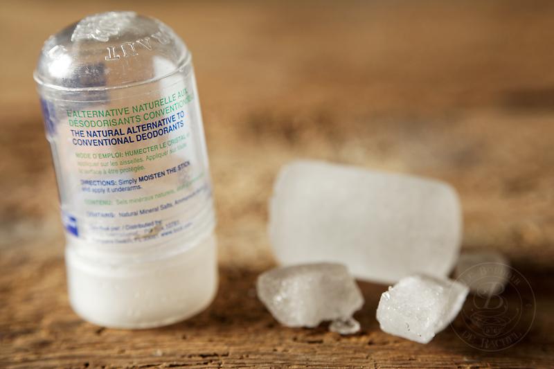 pierre d'alun sel d'aluminium